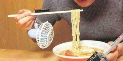 Ventilador para enfriar la comida Foto: Internet