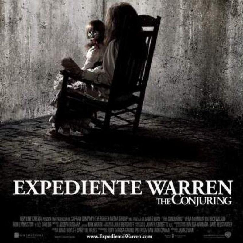 6. Expediente Warren: La inversión para producir esta película fue de 20 millones de dólares y ha logrado recaudar 193 millones de dólares a nivel mundial. Foto: Oficial