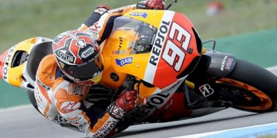 El piloto español Marc Marquez, hoy durante los últimos entrenamientos del Gran Premio de la República Checa, en Brno. EFE