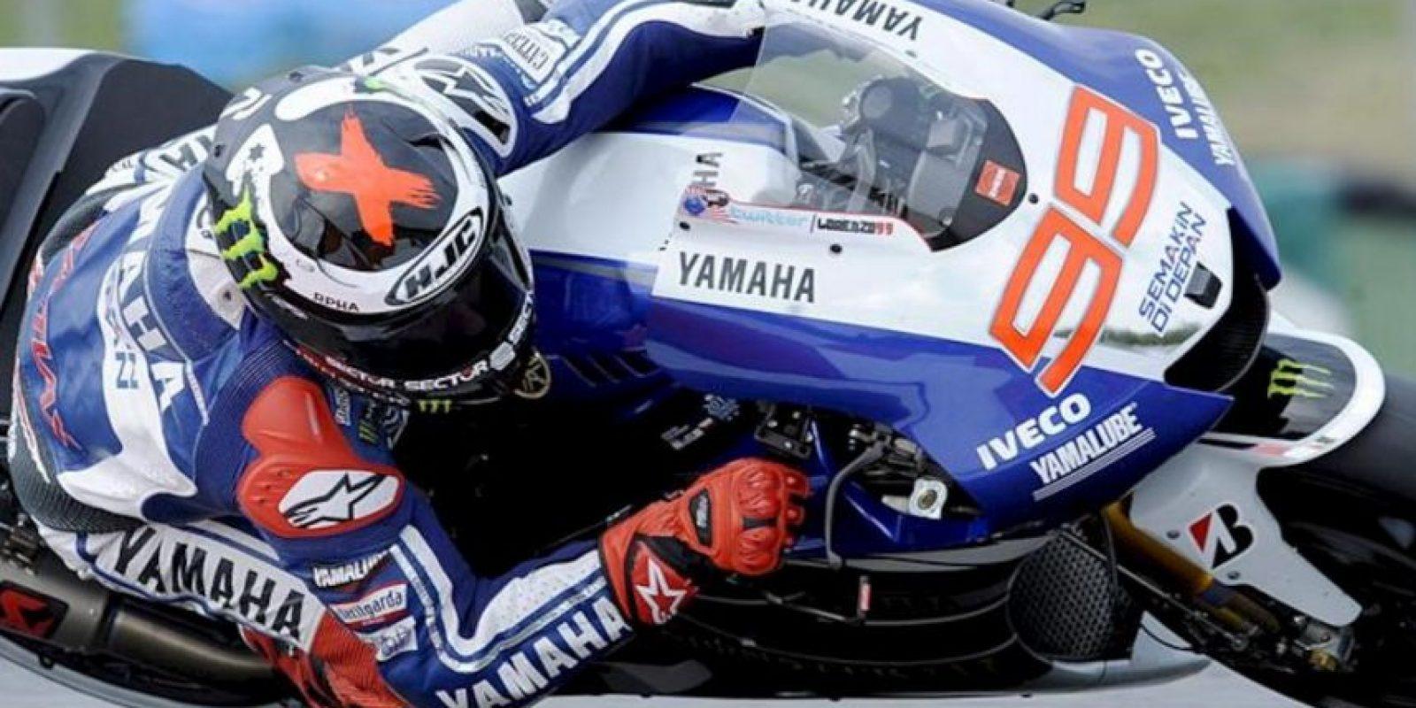 El piloto español Jorge Lorenzo, hoy durante los últimos entrenamientos del Gran Premio de la República Checa, en Brno. EFE