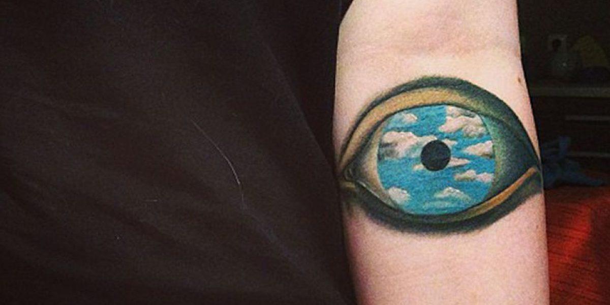 Fotos: Tatuajes inspirado en obras de arte