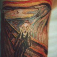 El grito de Edvard Munsch