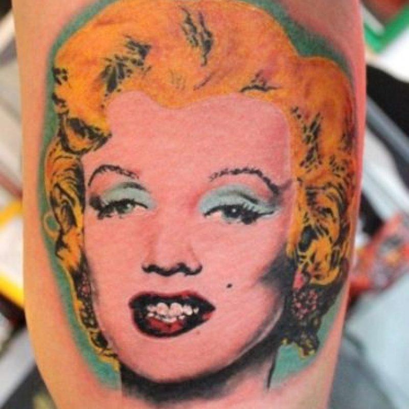 Marilyn por Andy Warhol. Foto: Pinterest.com