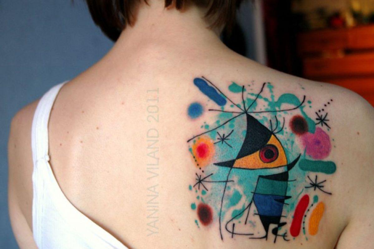 Chanteur por Joan Miró
