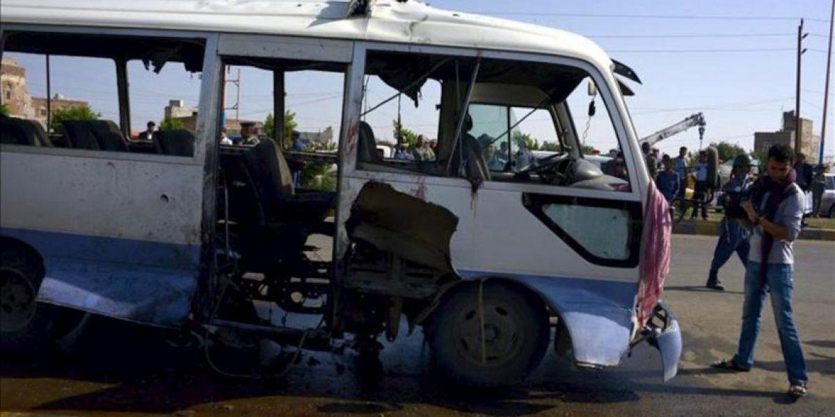 Mueren siete militares yemeníes en un atentado contra un autobús en Saná