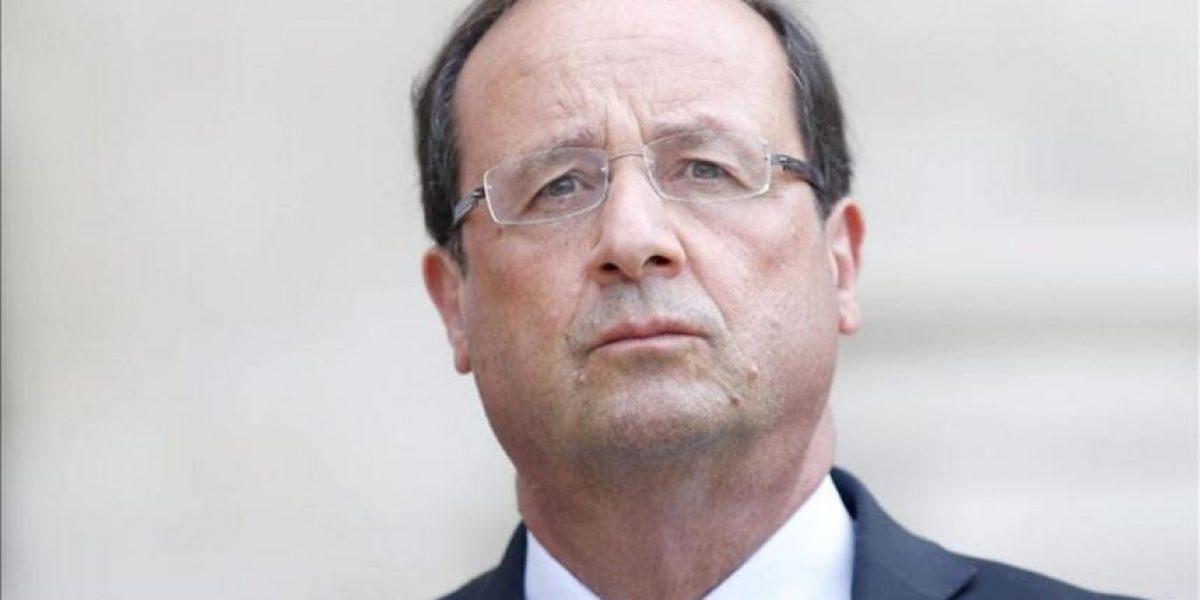 Hollande dice que todo apunta a que el régimen está detrás del ataque químico