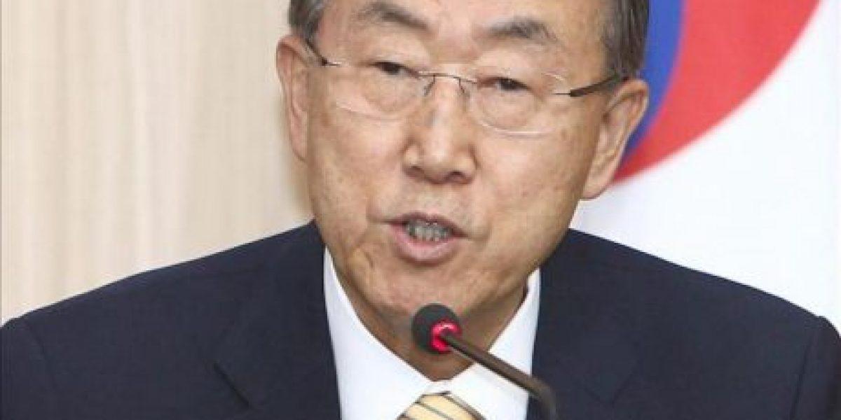 Ban Ki-moon medita visitar Corea del Norte para promover la distensión