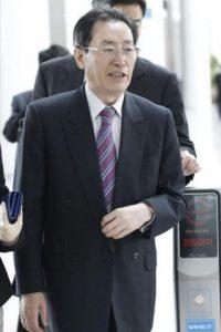 El enviado chino para el diálogo nuclear con Corea del Norte, Wu Dawei, en el aeropuerto de Incheon en Corea del Sur. EFE/Archivo