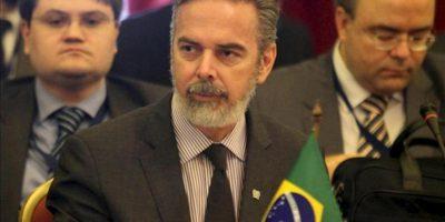 En la imagen, Antonio Patriota, a quien la presidenta brasileña, Dilma Rousseff, le aceptó su carta de renuncia como canciller de Brasil. EFE/Archivo