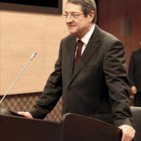 El presidente de Chipre, Nikos Anastasiadis, en Nicosia (Chipre). EFE