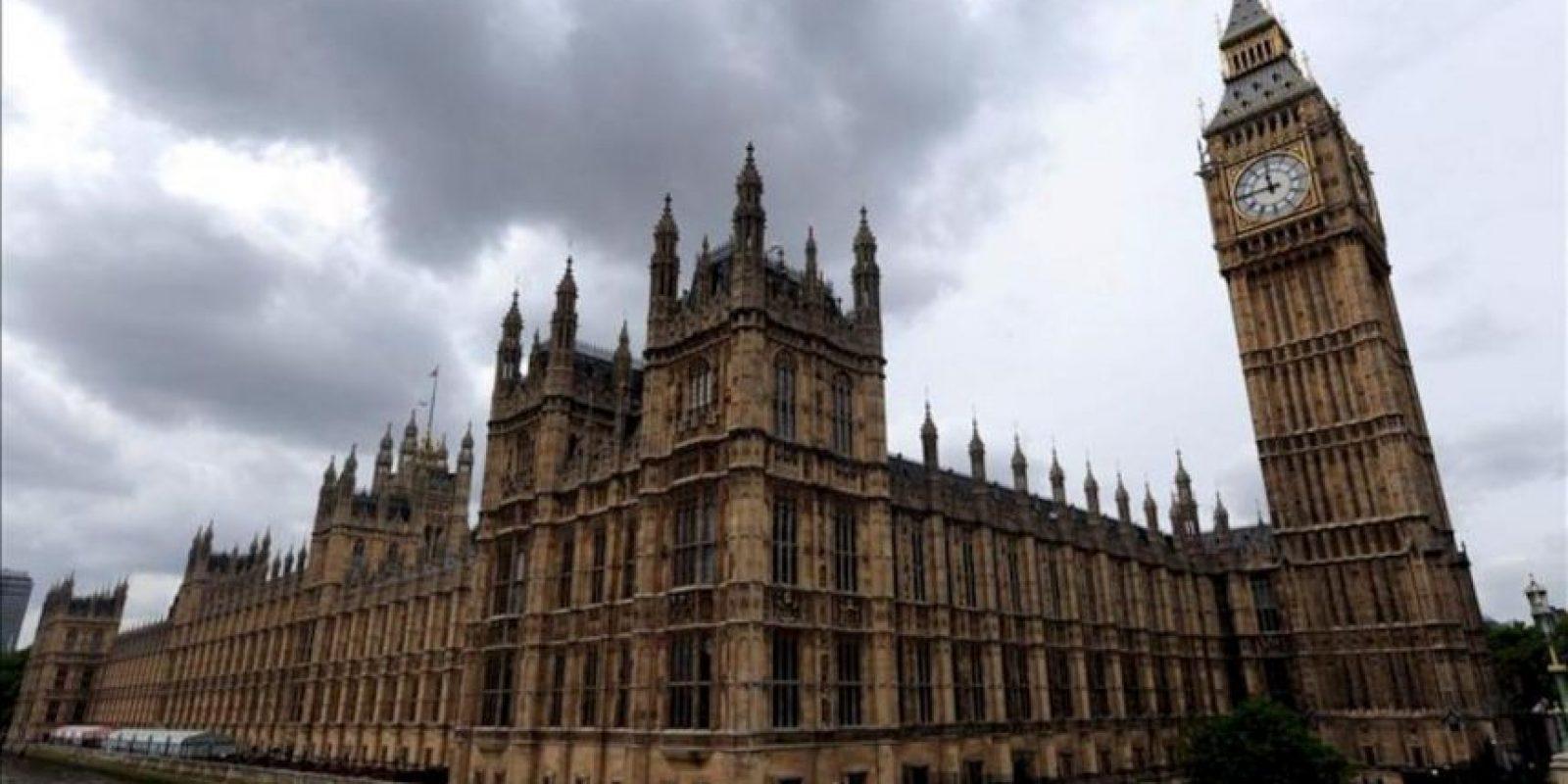El Palacio Wesminster en Londres (Reino Unido). EFE