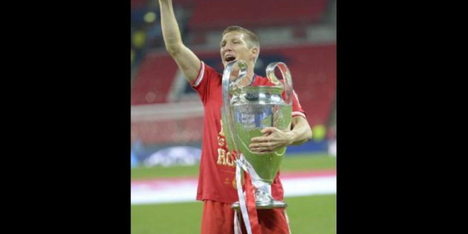 Bastian Schweinsteiger. 29 años. Con Bayern Munich desde el 2001. Foto:Getty Images