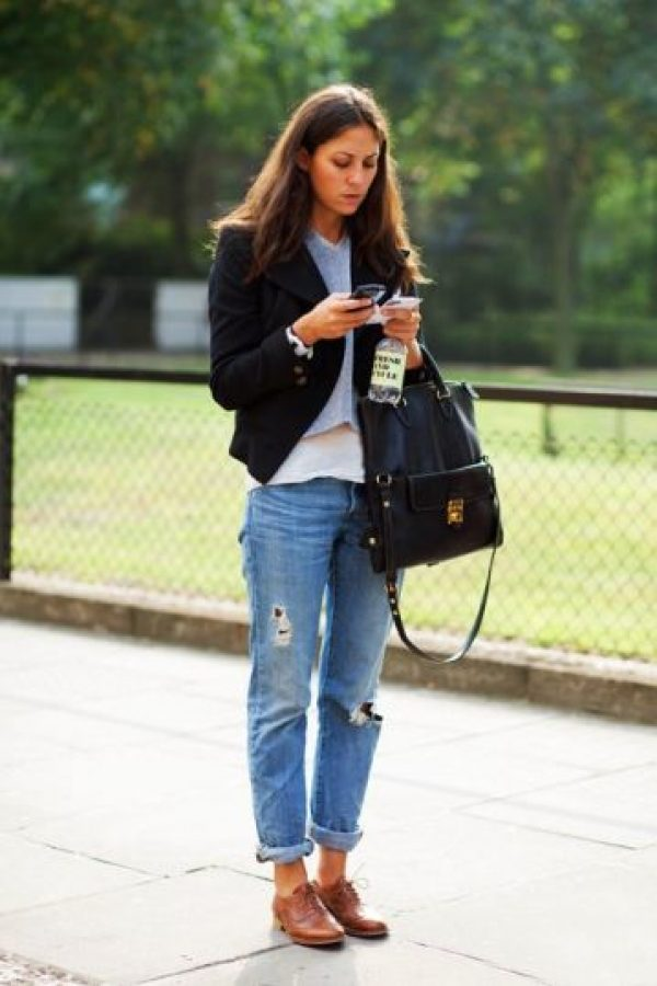 Jeans de novio. Foto: Pinterest.