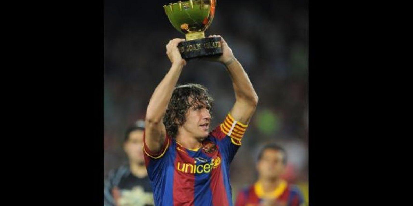 Carles Puyol. 35 años. Con Barcelona desde 1999. Foto:Getty Images