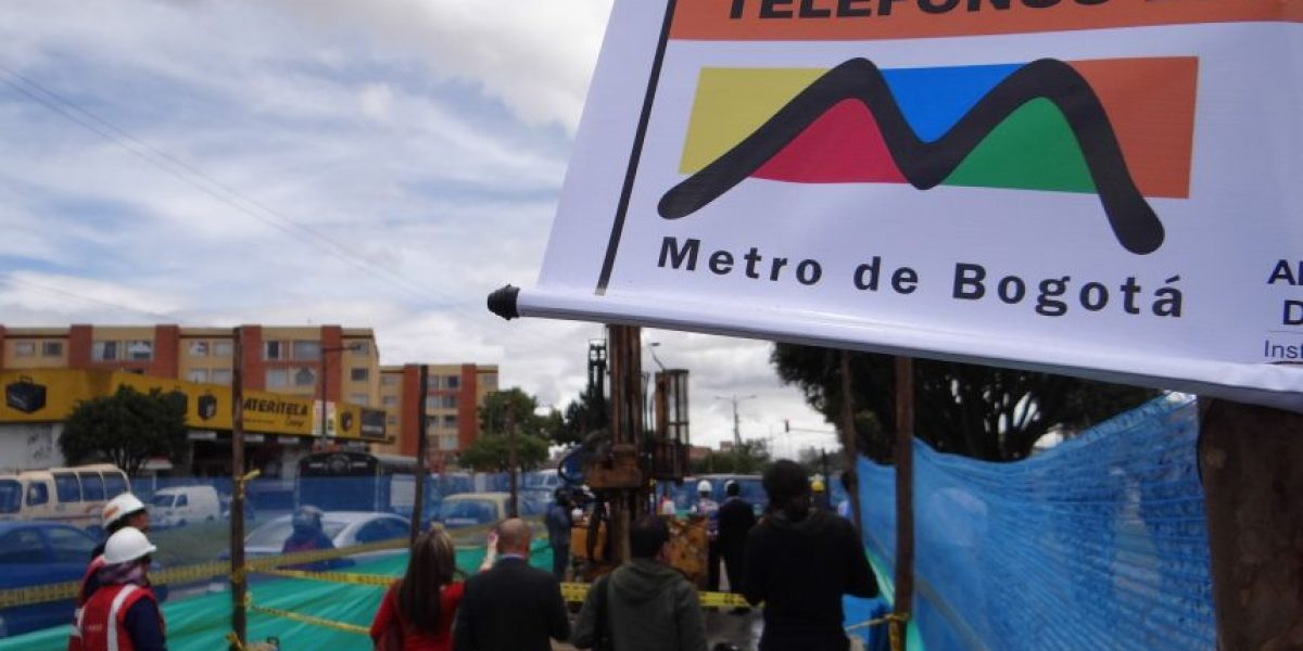Le explicamos cómo se hace el estudio del metro de Bogotá