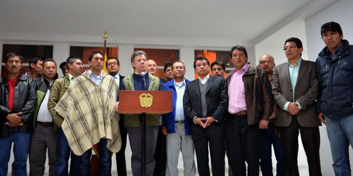 """""""Tacan burro quienes pretenden poner a los campesinos en contra del Gobierno"""""""
