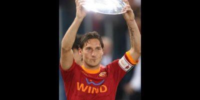 Francesco Totti. 36 años. Con Roma desde 1993. Foto:Getty Images