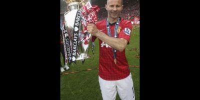 Ryan Giggs. 39 años. Con Manchester United desde 1990. Foto:Getty Images