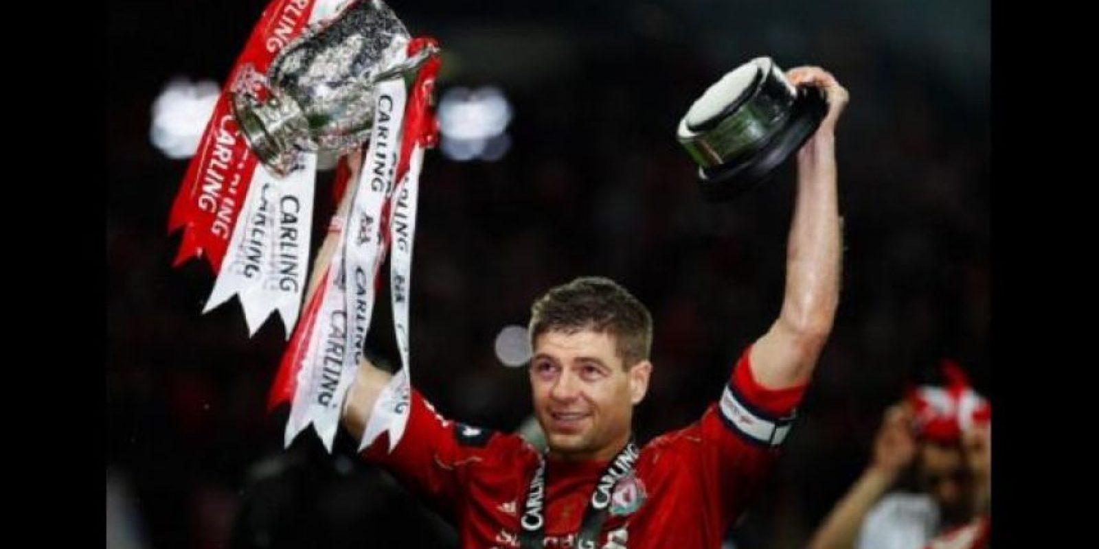 Steven Gerrard. 33 años. Con Liverpool desde 1998. Foto:Getty Images