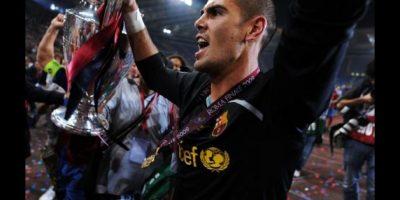 Víctor Valdés. 31 años. Con Barcelona desde el 2000. Foto:Getty Images