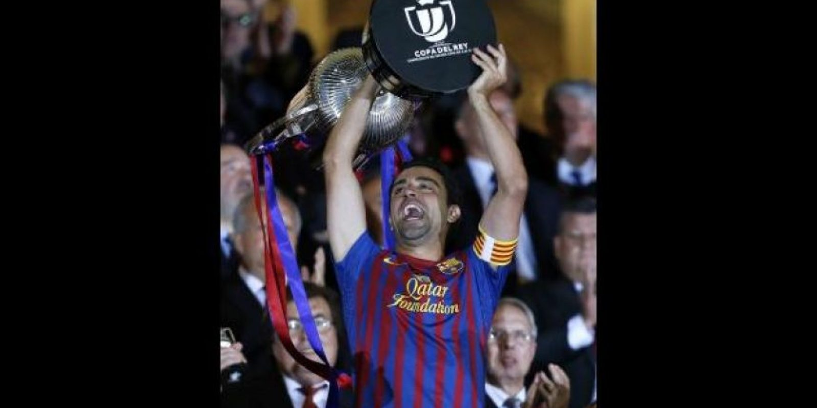 Xavi Hernández. 33 años. Con Barcelona desde 1998. Foto:Getty Images