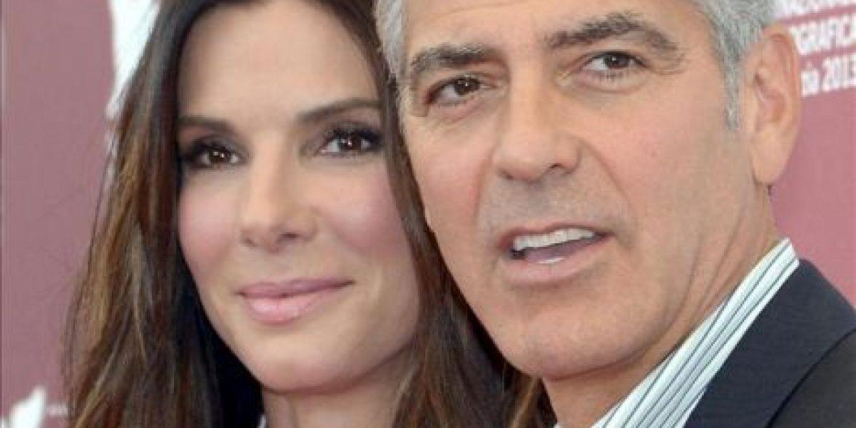 George Clooney y Sandra Bullock, dos estrellas en forma en Venecia