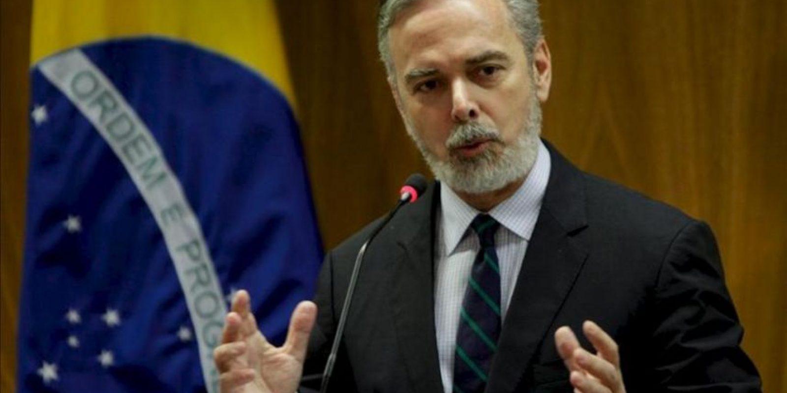 En la imagen, el excanciller de Brasil Antonio Patriota. EFE/Archivo