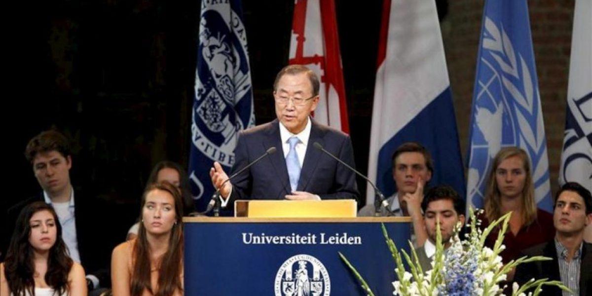 Ban pide esperar al análisis de los inspectores antes de intervenir en Siria