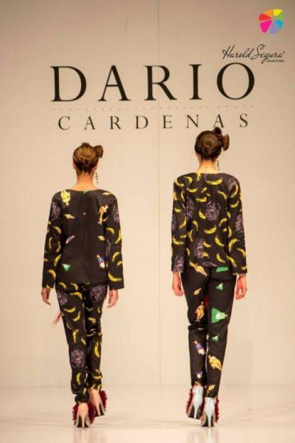 1. Propuesta de Darío Cárdenas en Ixel Moda 2013. Foto: Ixel Moda.