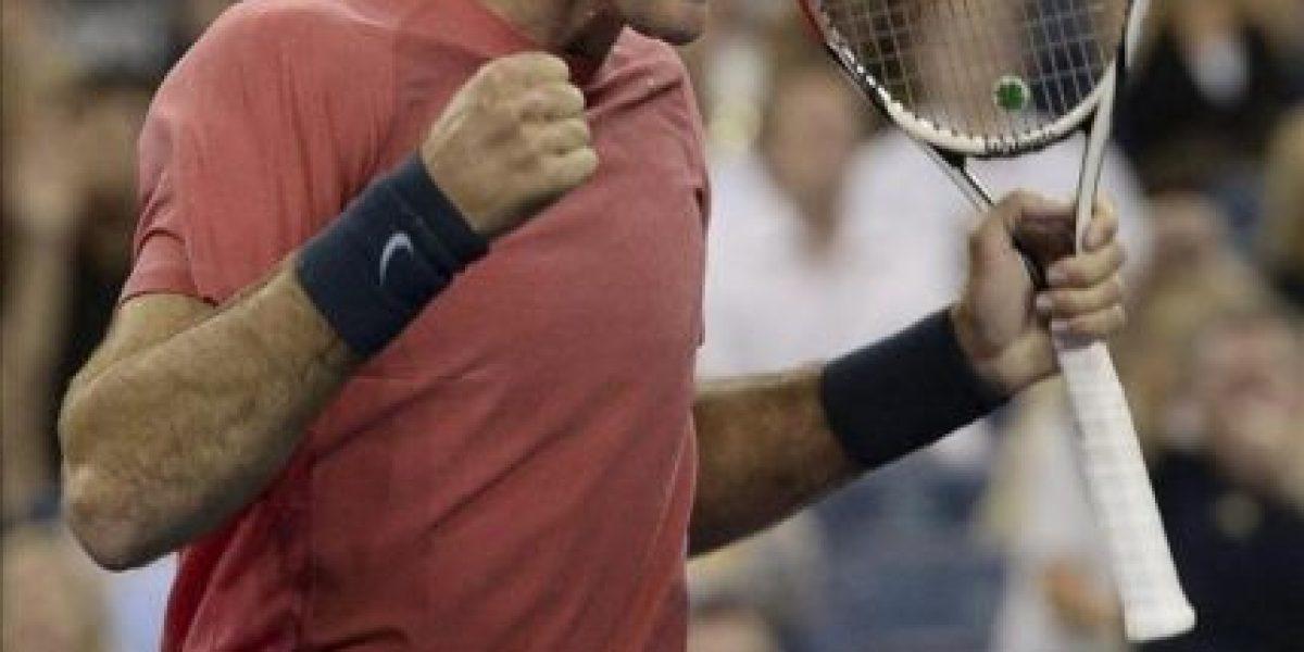 Murray comenzó dominante la defensa del título y sufrió Del Potro