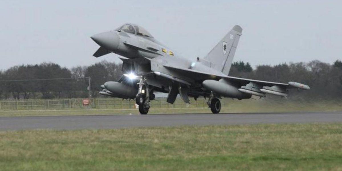 Londres envía seis cazas a Chipre para