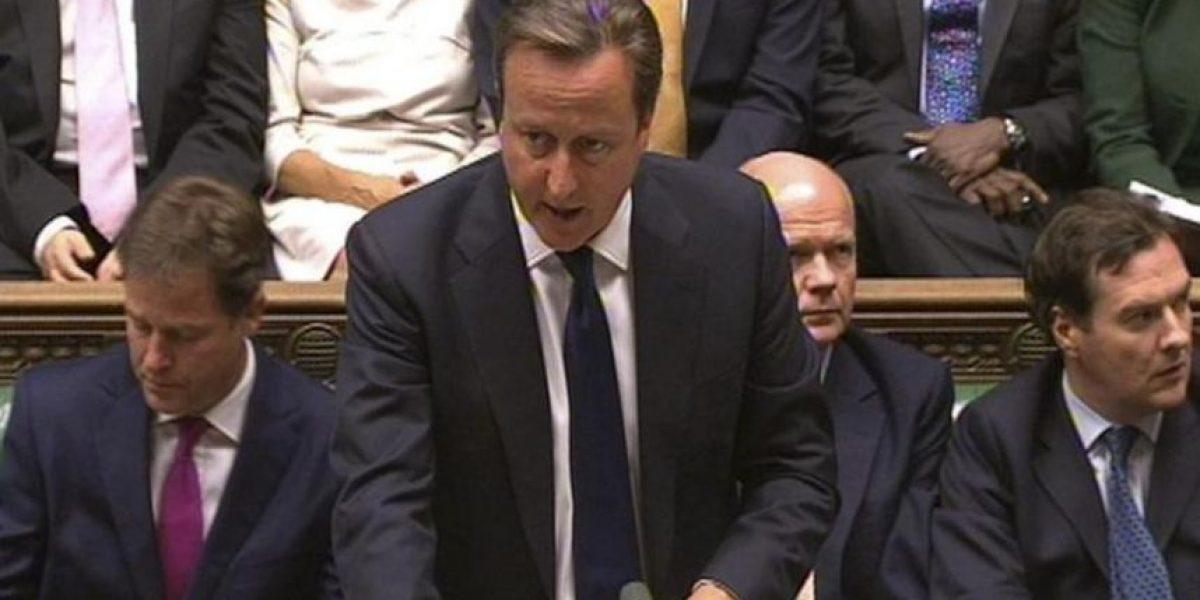 El Parlamento británico paraliza los planes de Cameron de atacar Siria