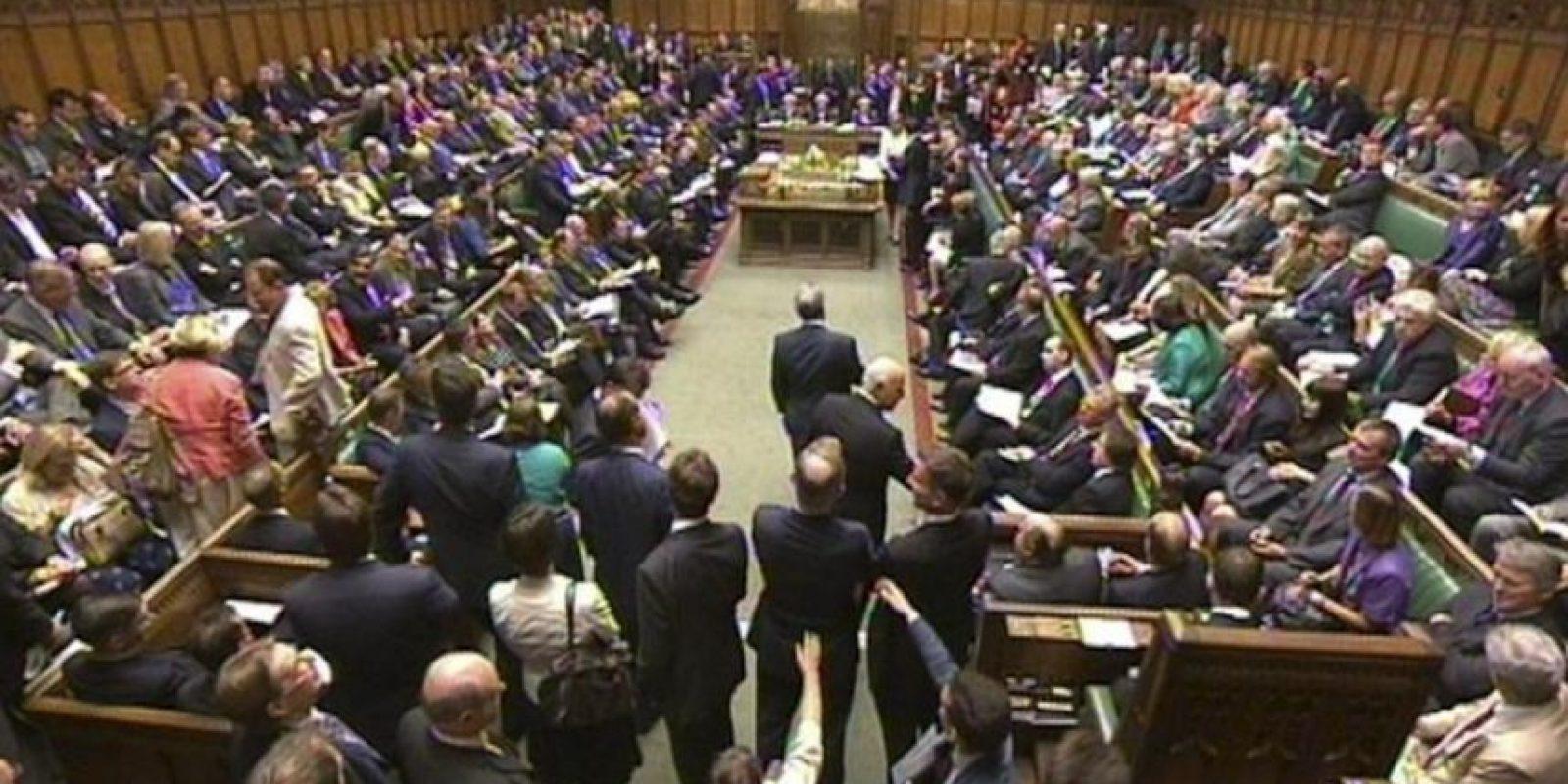 Un momento del debate sobre Siria en la Cámara de los Comunes, Londres, Reino Unido. EFE