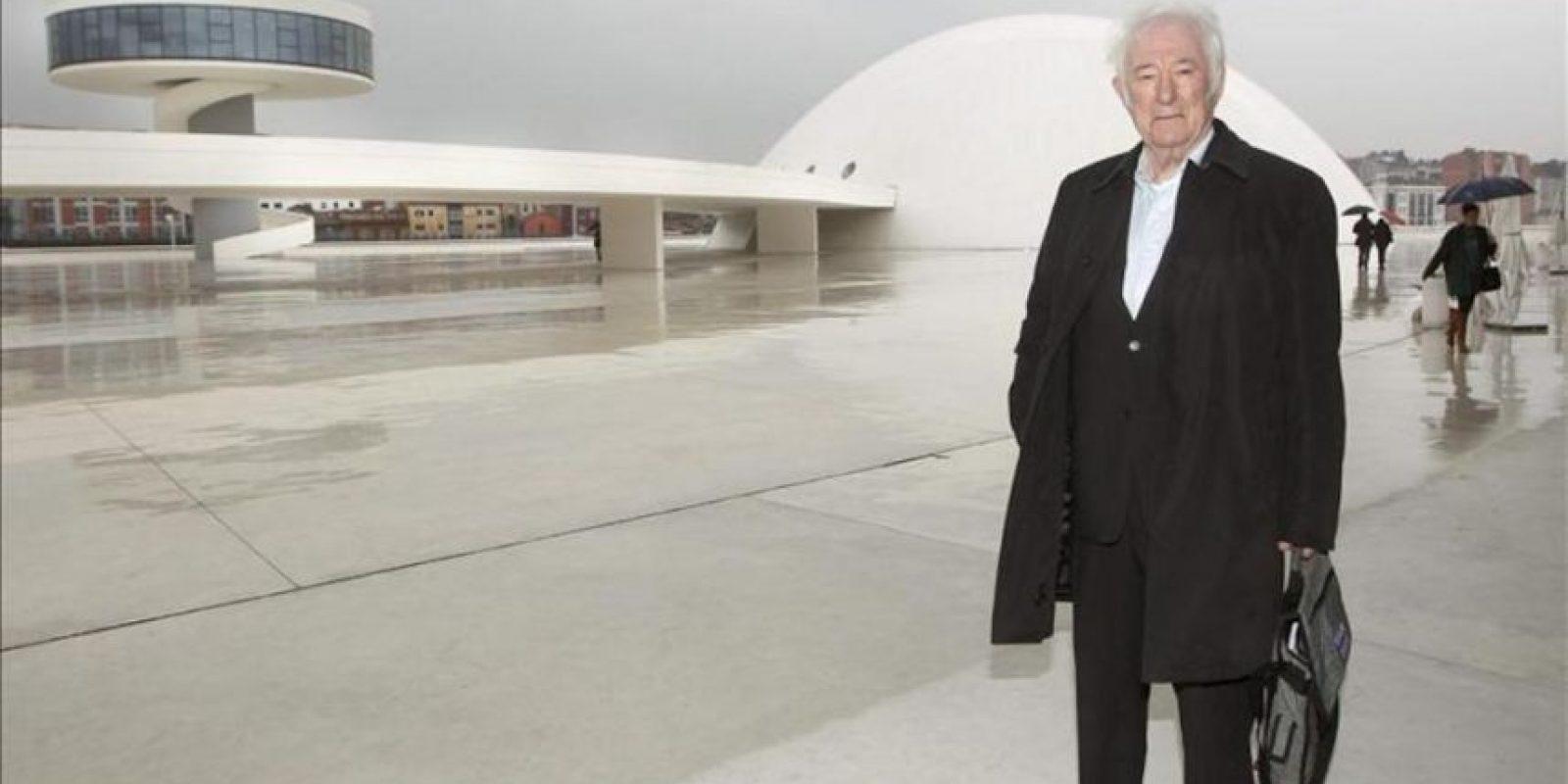 El Premio Nobel de Literatura Seamus Heaney durante una visita a España. EFE/Archivo