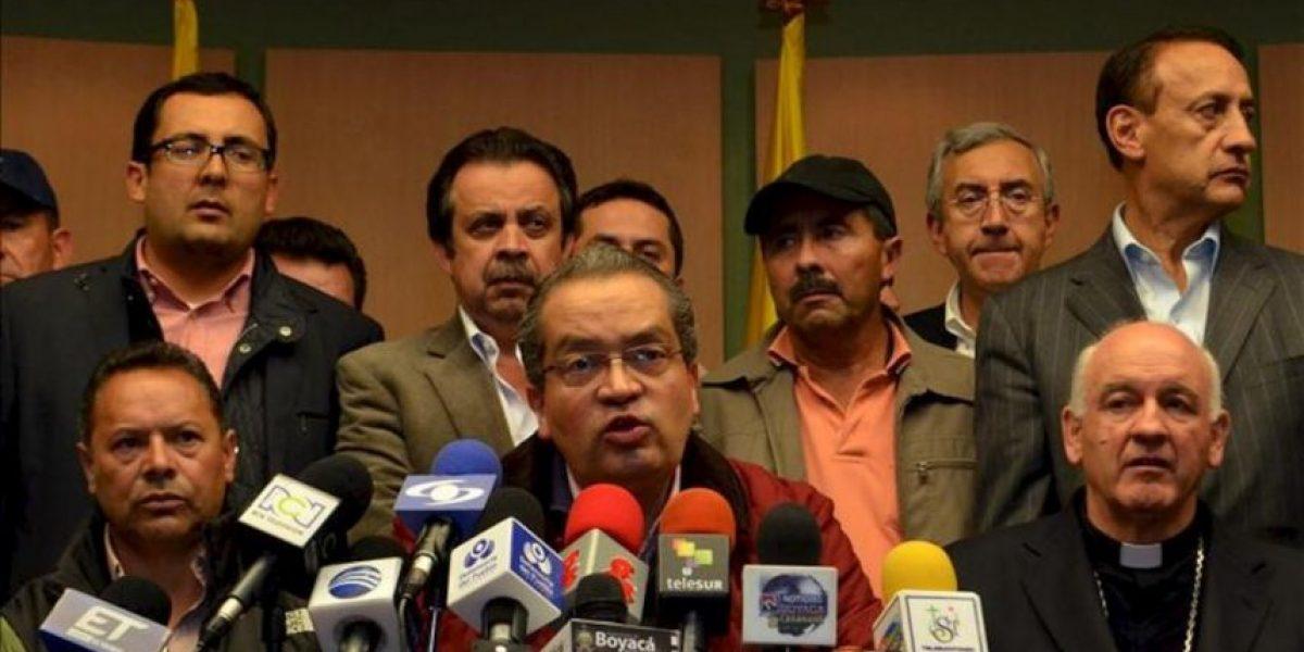 La tensión social en Colombia disminuye pero la huelga agropecuaria sigue