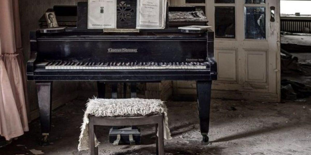 Escalofriantes imágenes de mansión abandonada