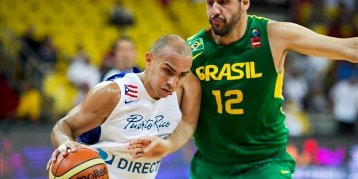 72-65. Puerto Rico vence a Brasil en un duelo de defensas