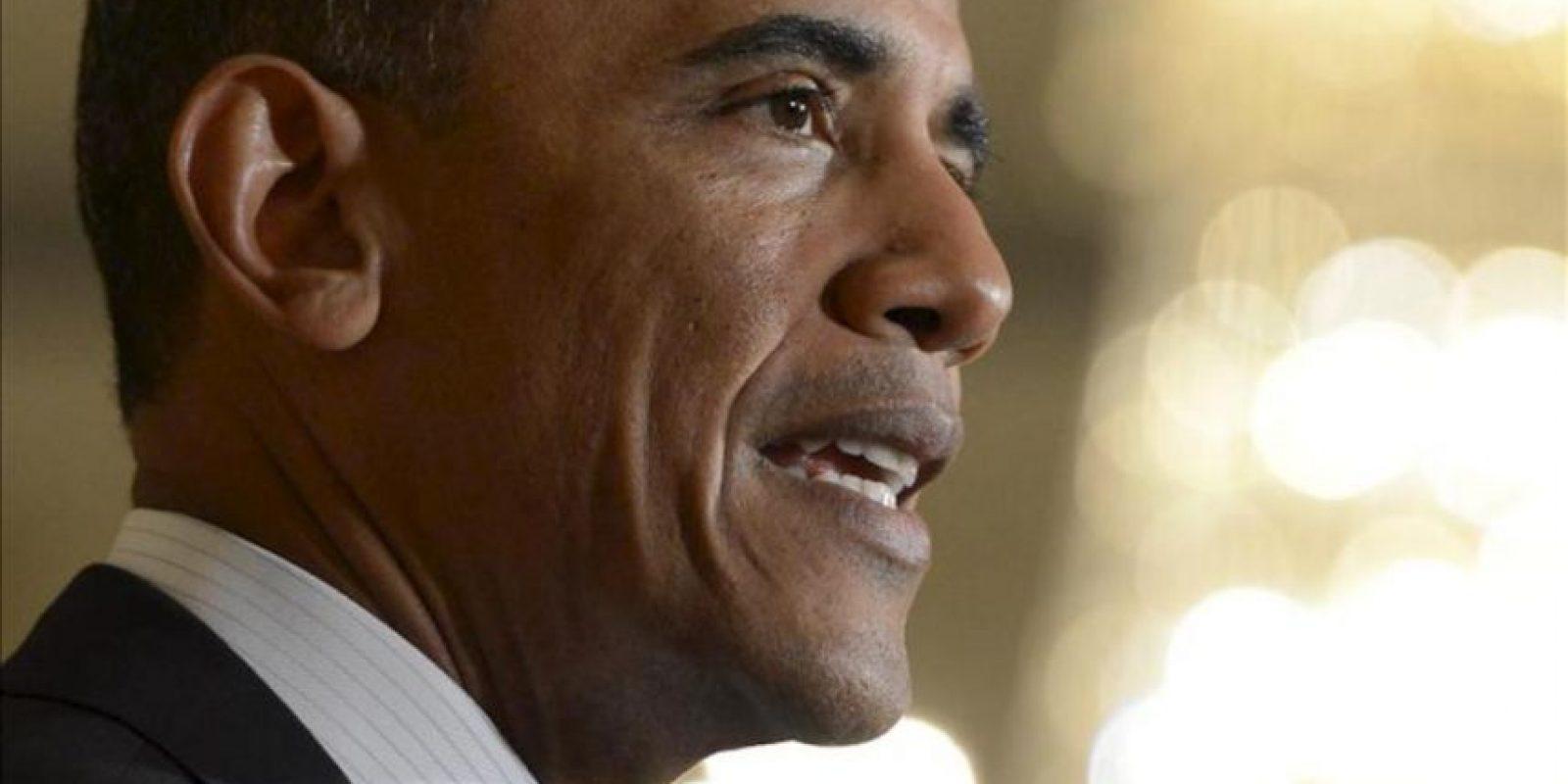En la imagen, el presidente de EE.UU., Barack Obama. EFE/Archivo