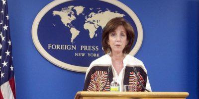 La secretaria de Estado adjunta para América Latina, Roberta Jacobson. EFE