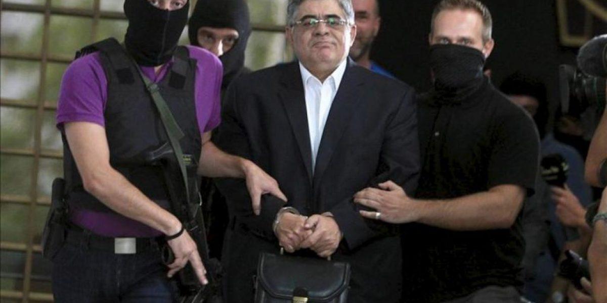 Duro golpe al partido neonazi griego Amanecer Dorado al ser detenida su cúpula