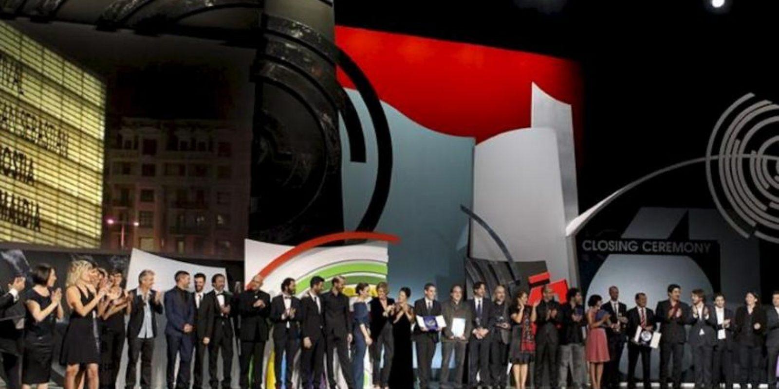 Gala de clausura la 61 edición del Festival Internacional de Cine de San Sebastián. EFE
