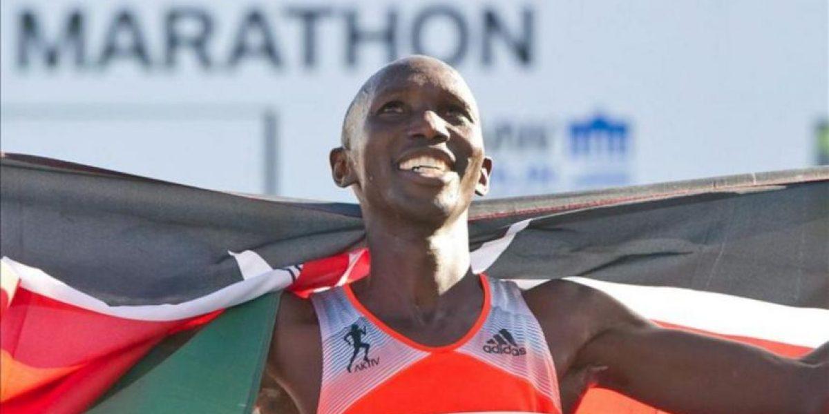 Wilson Kipsang le arrebata a Makau el récord del mundo de maratón en Berlín
