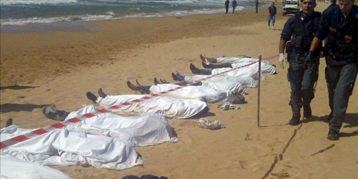 Mueren al menos 13 inmigrantes al intentar llegar a la costa de Italia