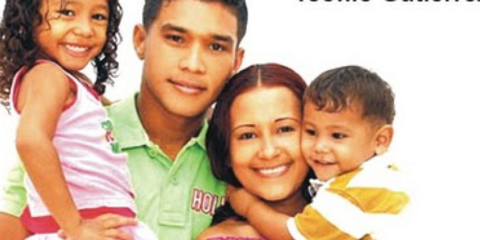 Teófilo Gutierrez y familia