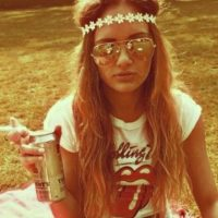 3. Hippies con el 13.8%. Los portavoces del amor y la paz también caen en la infidelidad. Foto:Tumblr