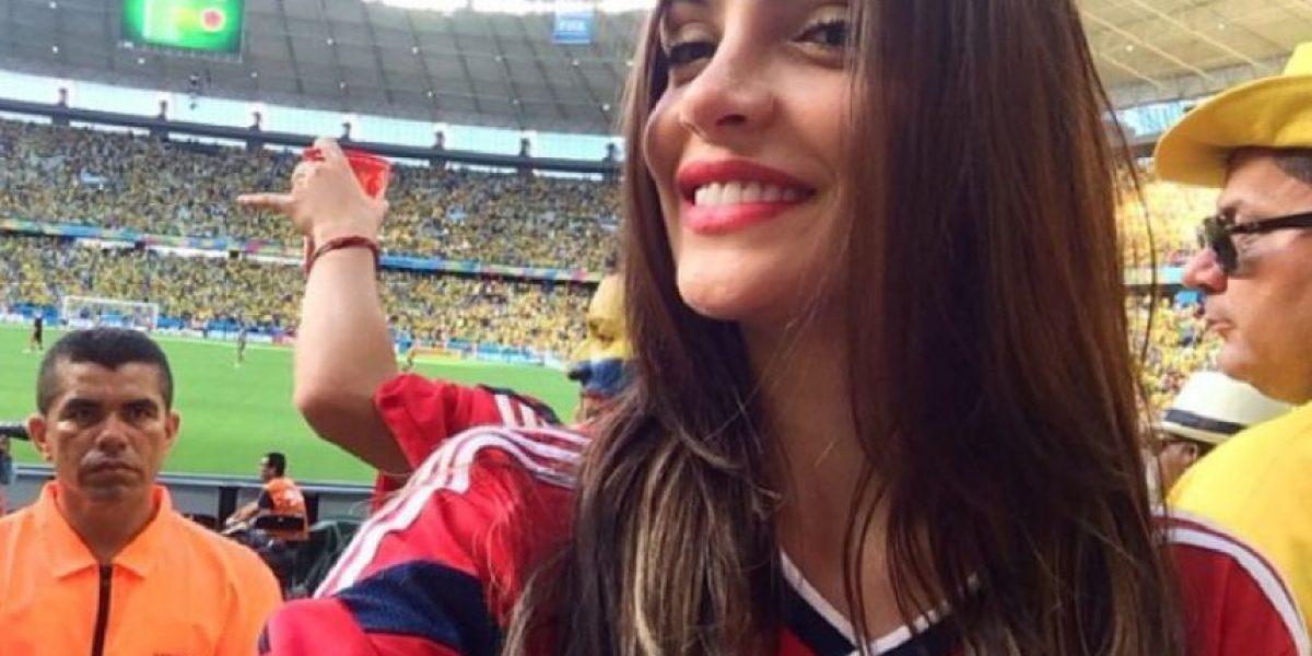 Fotos: Natalia Betancourt, la sexi hincha de la Selección, posa para Soho