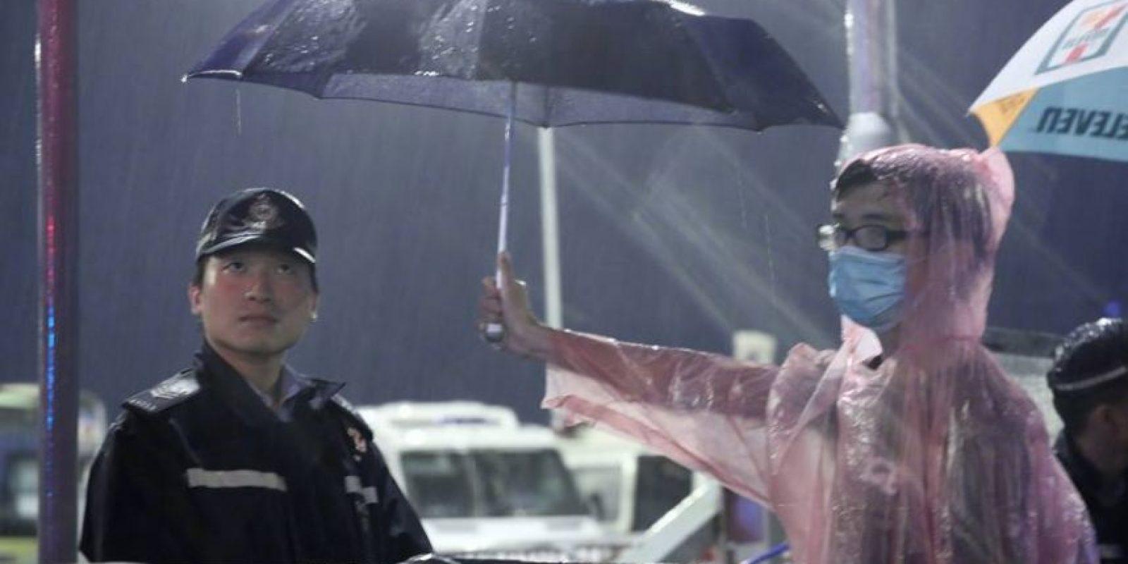 Las sombrillas se han convertido en un símbolo para los manifestantes Foto:Facebook FB Newshire