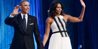 La familia Obama no se salvó de sus ofensas Foto:Getty Images
