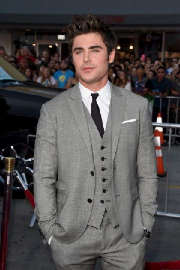 "Al actor Zac Efron le dijo ""cara fea"" Foto: Getty Images"