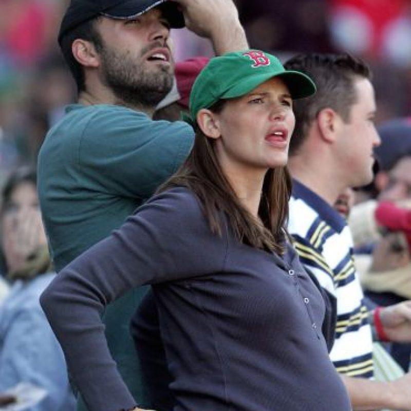Él comenzó una relación con la actriz Jennifer Garner Foto:Getty